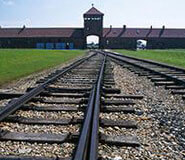 Auschwitz entry gate