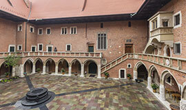 Jagiellonian University courtyard