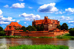 Map of Poland - Malbork Castle