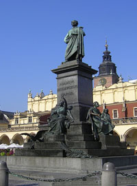 Weekend in Krakow - Adam Mickiewicz Monument
