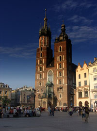 Krakow Sights - St. Mary's Church