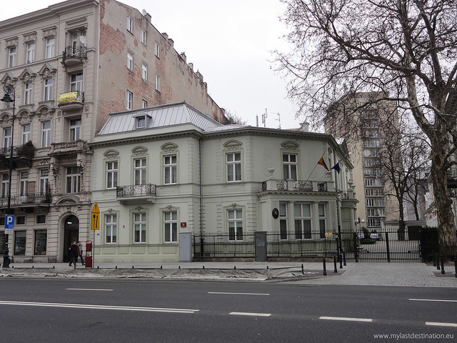 Embassies and consulates in Poland