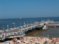 Weekend in Gdansk - Brzezno Beach Pier