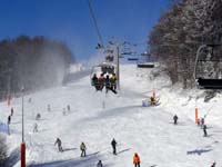 Bukowina Ski Resort - Slope with chair lift