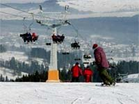 Skiing in Polan - Chair Lift
