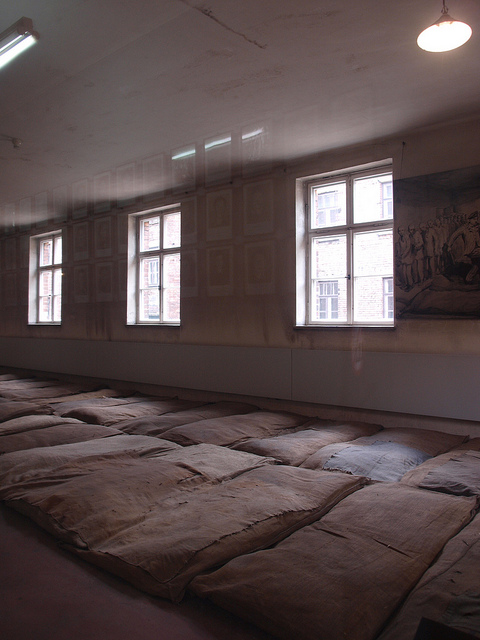 Auschwitz living conditions