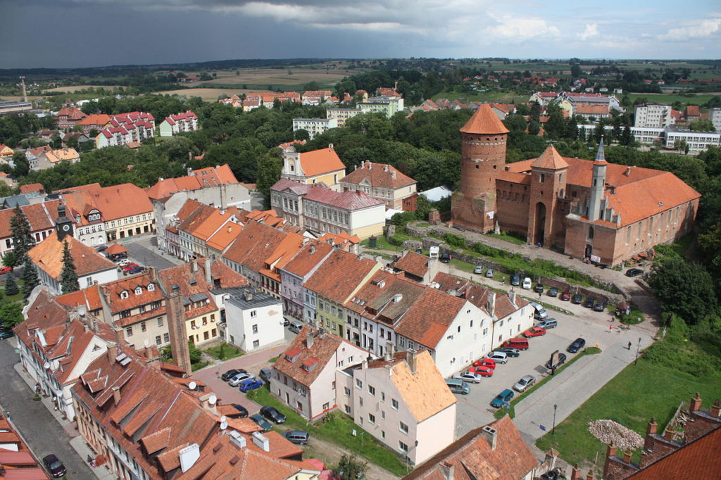 Reszel, view from tower