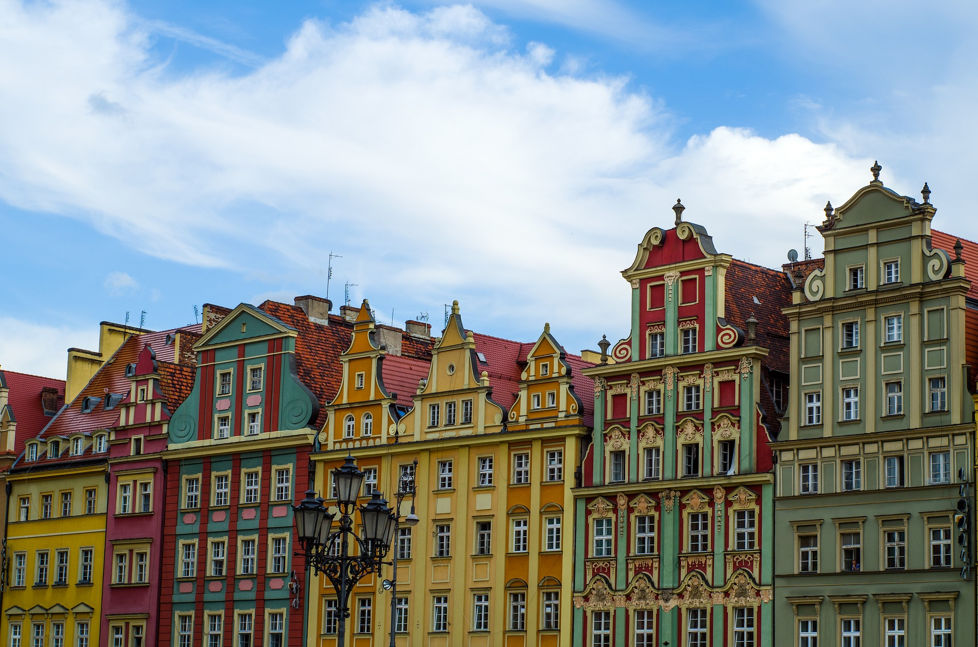 market architecture from 3 days in Wroclaw