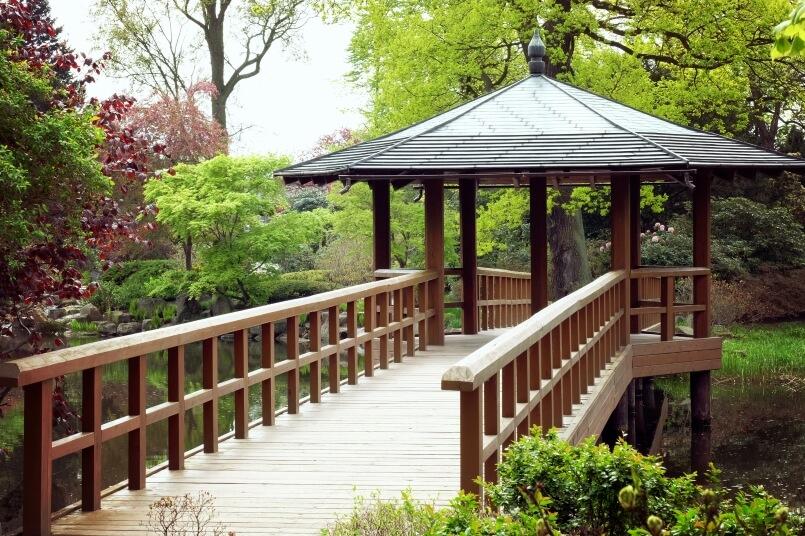 Japanes garden in Wroclaw