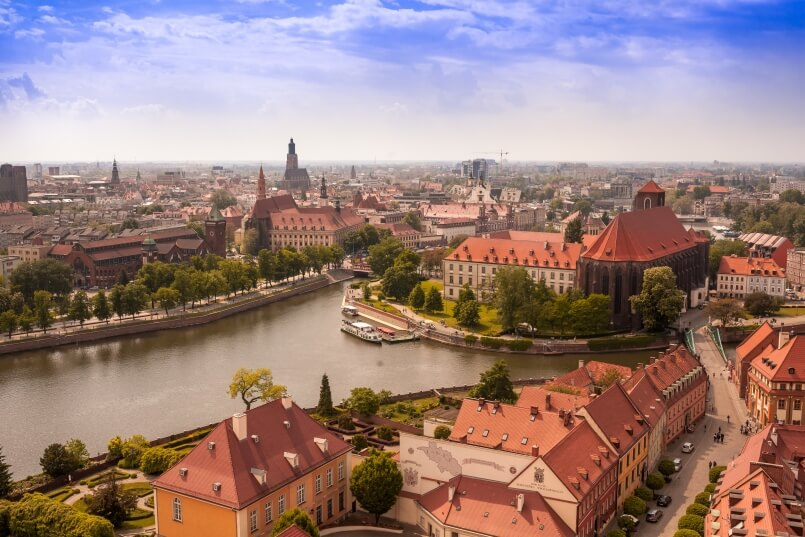 Wroclaw landscape