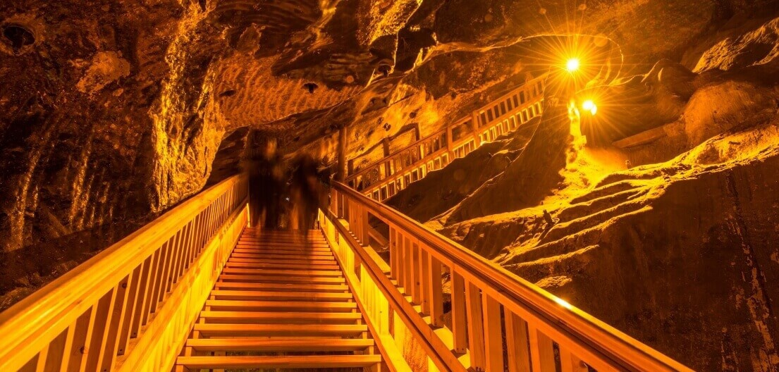 Travel in time - stairs-in-the-salt mine-wieliczka-5b055995ed14c